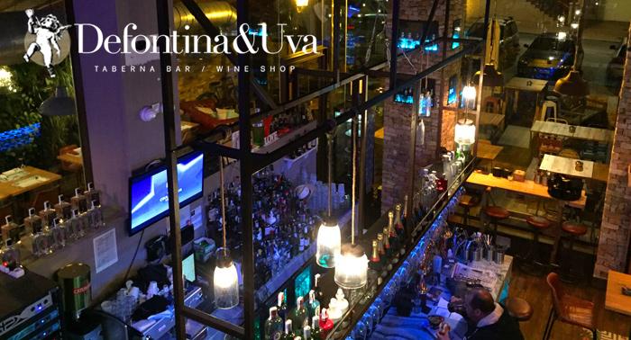 ¡Planazo para 2! Hamburguesas Gourmet con Patatas, Bebidas y Postres en Defontina & Uva