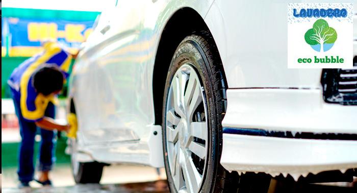 ¡Tu coche reluciente! Lavado ecológico en Ecobubble para todo tipo de coches