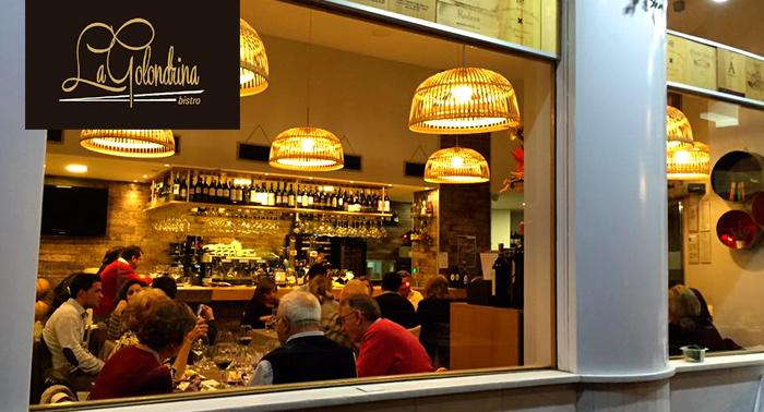 ¡A Comer! Ensalada Marinada de Atún + Picanha o Costillar + Bebida en Restaurante La Golondrina