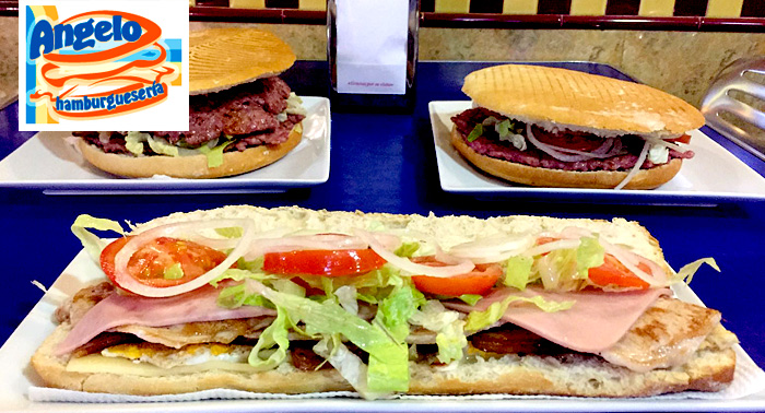 ¡Un plan mítico! Hamburguesa XXL, Bocadillo de Lomo o Pizza Mediana + 1/2 Litro de Refresco