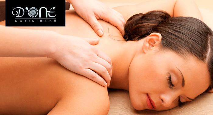 Olvídate del estrés y las molestias con un relajante masaje de 50 min. ¡Puro Relax!