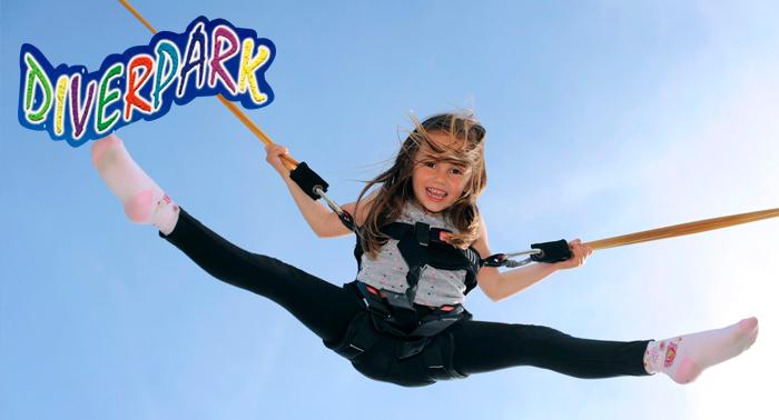 ¡Regala ilusión a los más pequeños! Bono de 4 atracciones en DiverPark