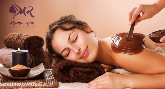¡Un Dulce regalo! Masaje de Chocolaterapia o Limpieza Facial con Aromaterapia