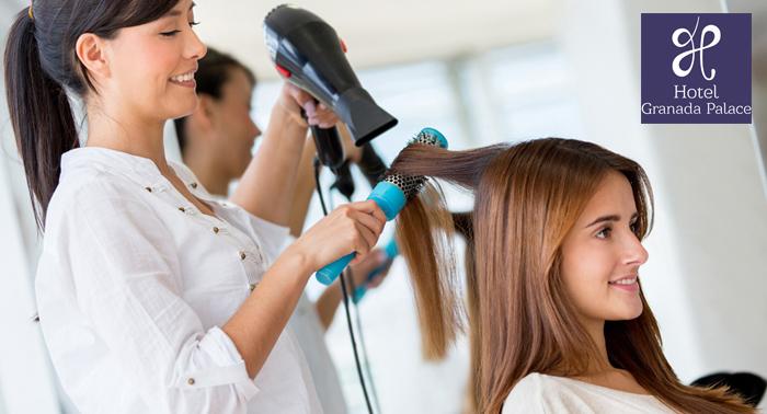 ¡5 completas y relajantes sesiones de peluquería: Lavado + Peinado + Asesoramiento + Masaje!