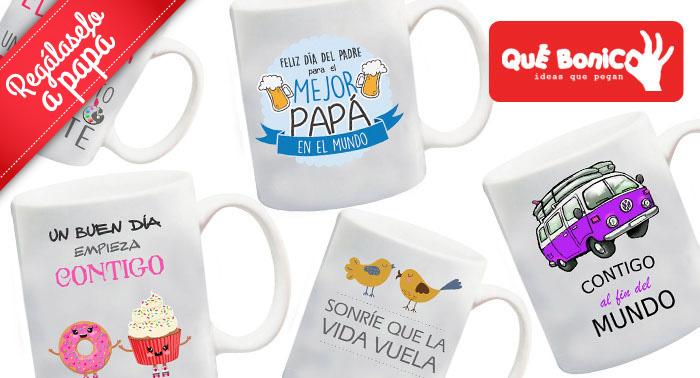 2x1 en Tazas Personalizadas ¡Elige tu diseño y haz el regalo más original en el Día del Padre!
