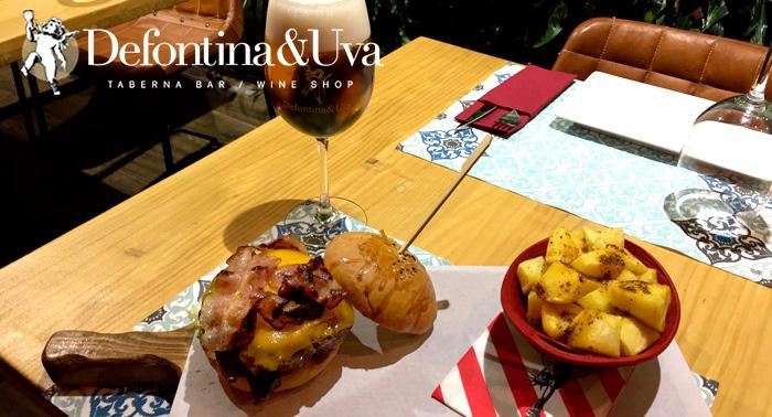 ¡Plan estrella para 2 personas! 2 hamburguesas Gourmet con patatas, Bebidas y postres