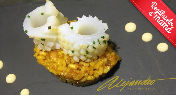 Menú Degustación para 2: Más de 10 platos de Estrella Michelín en Restaurante Alejandro