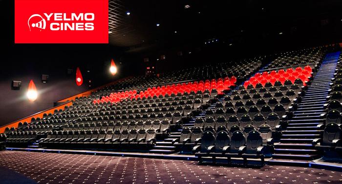 Entrada al cine en YELMO ROQUETAS por 4,50€ o Entrada + Palomitas + Refresco por sólo 9€