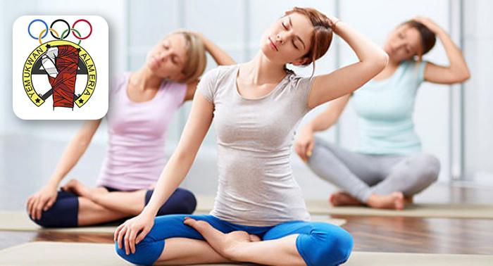 Ponte en Forma: 1 Mes de Pilates para adultos o 2 Meses de Taekwondo para adultos o niños