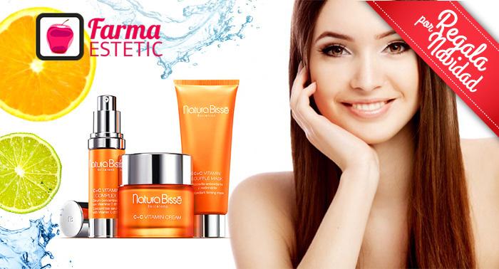 Esta Navidad cuida tu piel: Tratamiento Facial con Vitamina C de Natura Bissé