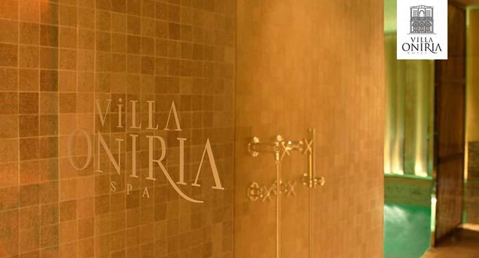 Regala relax y bienestar: Circuito Spa para 2 con opción Masaje en Hotel Villa Oniria