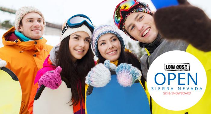 1, 2 ó 3 días de Alquiler de equipo de Esquí o Snowboard. Regala ocio en Sierra Nevada