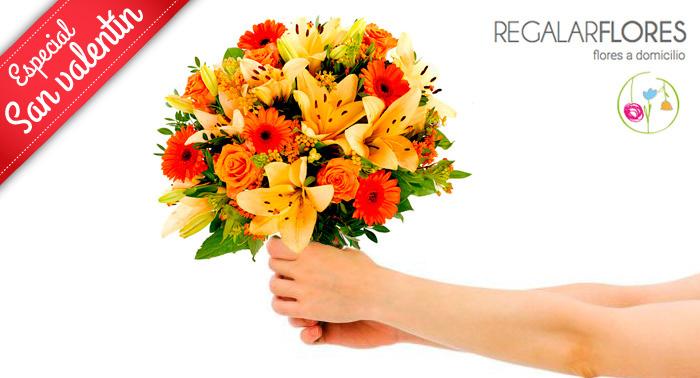 Sorprende a alguien especial en San Valentín con un Fantástico Ramo de Flores