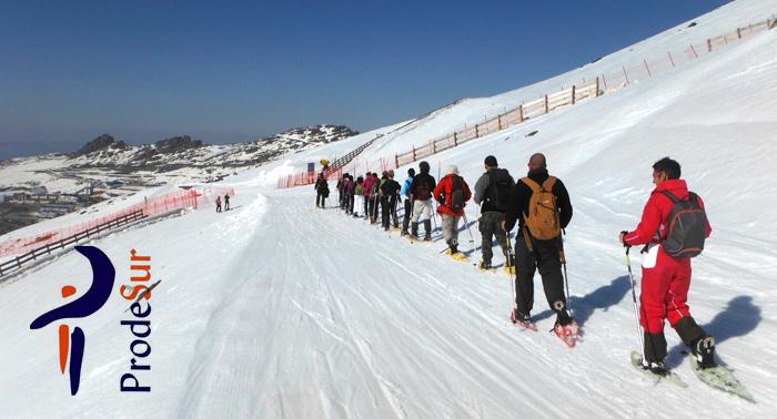 Ruta con raquetas de nieve por Sierra Nevada + Reportaje fotográfico