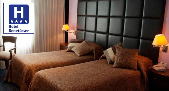 Escapada a Valencia: Alojamiento + Desayuno Buffet en Hotel Benetusser****