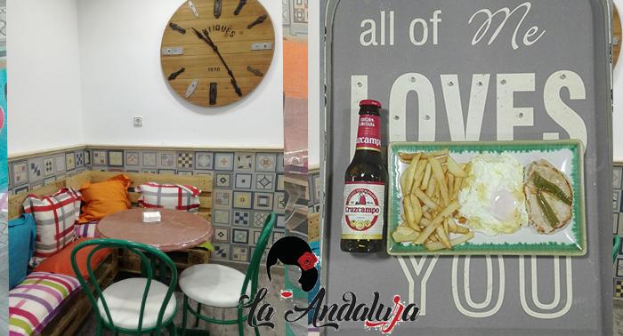 La Andaluza, ¡un plan ideal!: quinto  + mini plato combinado o 2 quintos + 2 tapas + ración