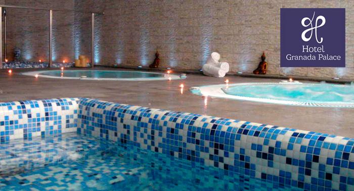 Spa Granada Palace + Té o Cava + Opción a Masaje, Peeling o Cena ¡Puro relax!