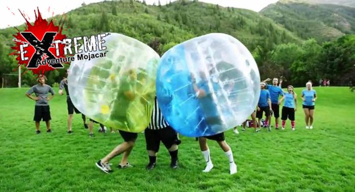 ¡¡FootBubble la práctica deportiva más divertida y de moda!!