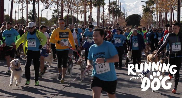 ¡Vuelve Running With Dog Almería! Disfruta con tu perro de la carrera más divertida y solidaria