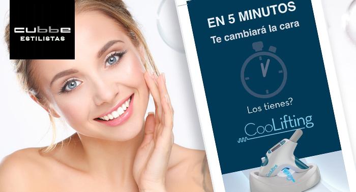 Tu piel más joven: Tratamiento facial CooLifting + Masaje + Mascarilla de Colágeno