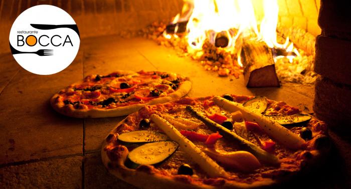 Tu comida italiana preferida de lunes a jueves: Refresco + Pizza o Pasta en Restaurante Bocca