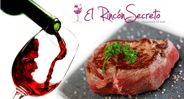 Menú gourmet para 2 personas: Entrante + carne a la piedra + bebidas
