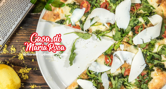 ¡Italia más cerca de tu paladar! Menú italiano para 2: Aperitivo, Pizza o Pasta, Bebidas y Pan