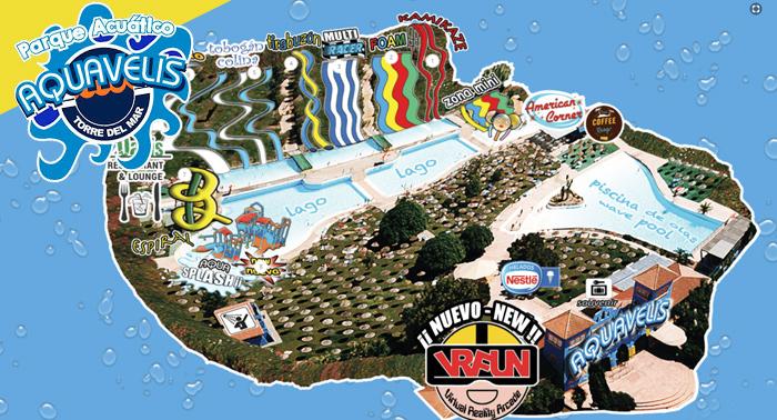 ¡Refréscate y pásalo en grande! Parque Acuático Aquavelis + Experiencia Realidad Virtual