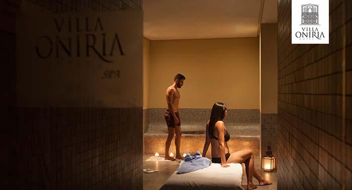 ¡Regala relax! Circuito Spa para 2 personas con opción a Masaje en Hotel Villa Oniria