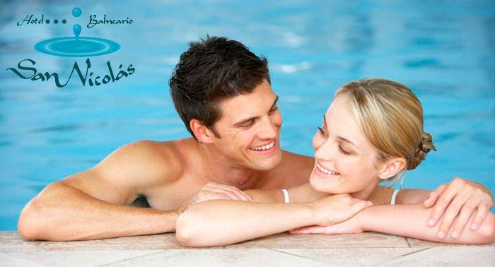 Para 2 personas: Circuito termal + Buffet libre en el Balneario de Alhama de Almería