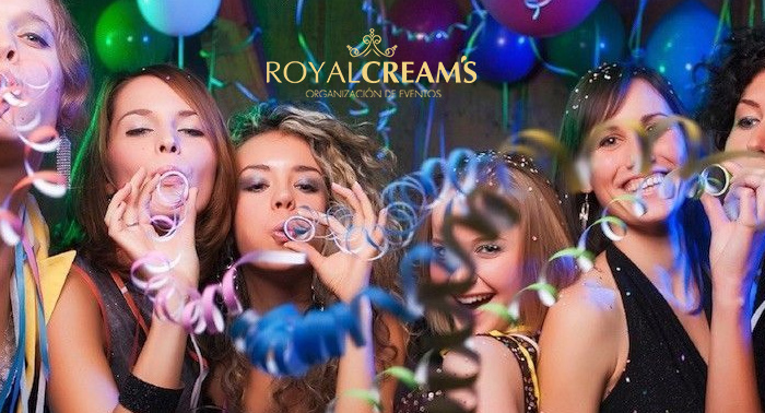 ¡Royal Cream's te trae la más original y divertida despedida de soltera!