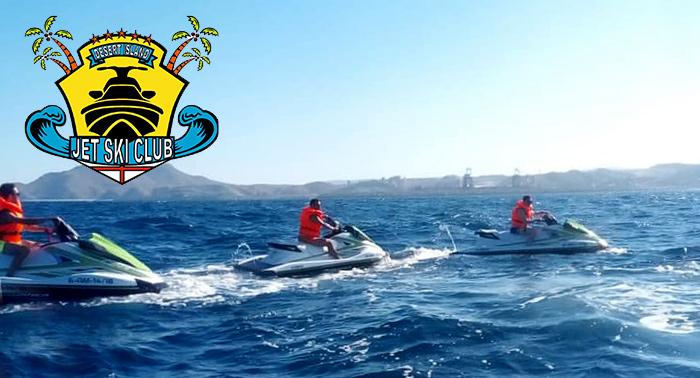 Ruta para 2 personas en Moto Acuática durante 1h por la Costa del Levante almeriense