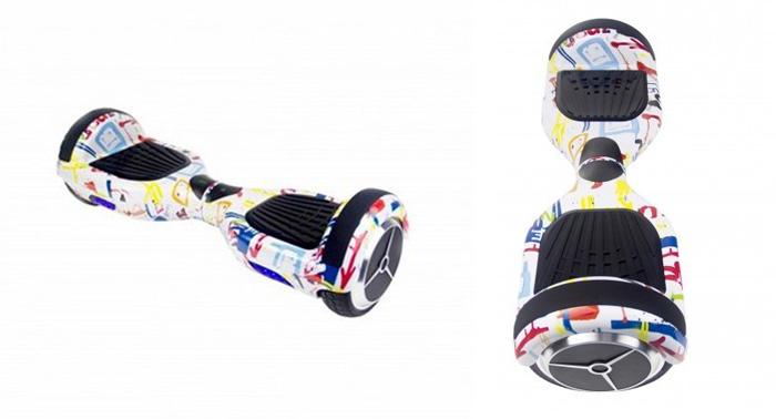 Recórrete la calle con el nuevo Hoverboard Skate Flash K6 Streetdance