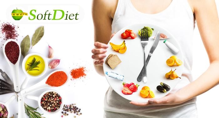 ¡Adelgaza a la Carta con SoftDiet! 2 o 6 Semanas de Dieta Personalizada