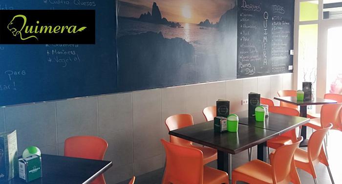 Rico tapeo con 5 cañas o tintos de verano + 5 tapas en Bar de Tapas Quimera