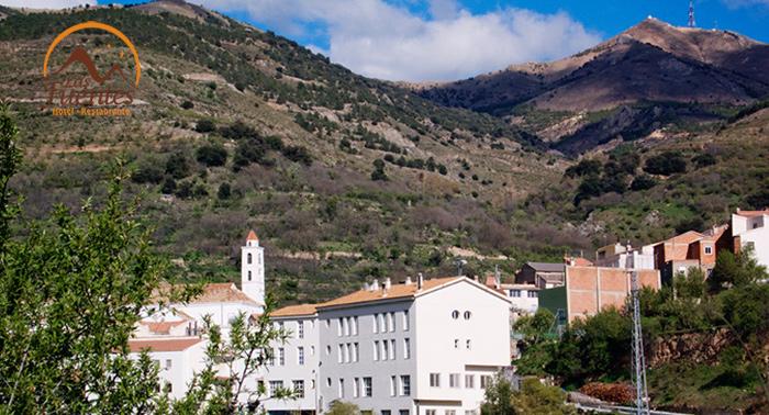 Desconecta cerca del Calar Alto en la Sierra de los Filabres en el Hotel Las Fuentes de Bacares