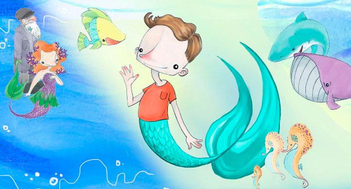 Obra de teatro para los más peques de la casa: 'Namor, el niño pez' en Teatro Cervantes