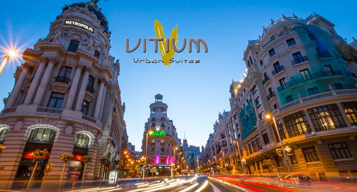 Amanece en la Gran Vía de Madrid: Alojamiento en Habitación Doble y Desayuno Buffet