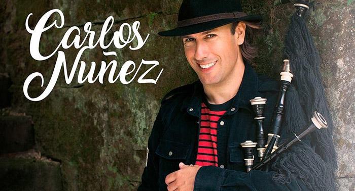 No te puedes perder el concierto del célebre gaitero Carlos Núñez en Teatro Cervantes