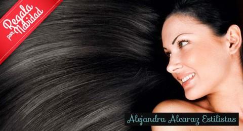 ¡Consigue un pelo totalmente liso! Tratamiento de Queratina en Alejandra Alcaraz Estilistas