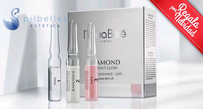 Cuida la piel de tu rostro: Tratamiento Facial Diamond Instant Glow de Natura Bissé