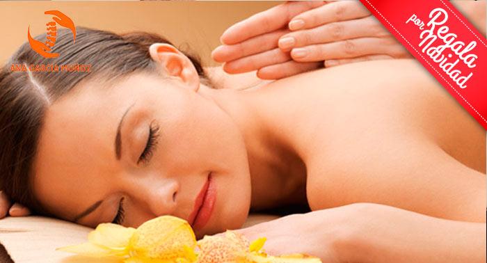 ¡Relax en estado puro con 1 o 3 Sesiones de 50min: Quiromasaje + Auriculoterapia + Acupuntura!