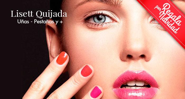 Regálate belleza: Esmaltado Permanente o Uñas Acrílicas en Manicura Francesa