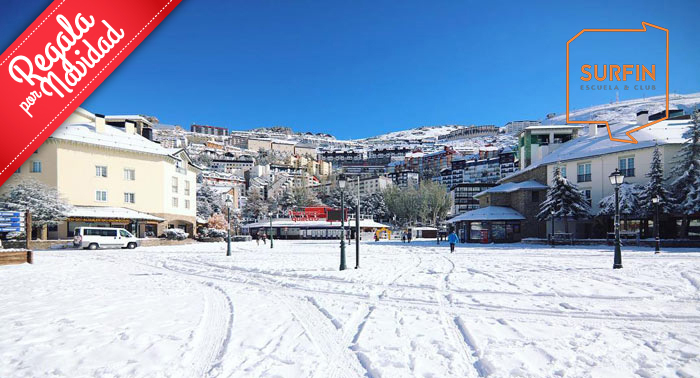 ¡Disfruta al máximo de Sierra Nevada! Curso Grupal de Esquí o Snow + Equipo