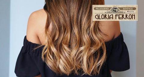 ¡Hazte un nuevo cambio de look! Mechas Balayage + Tratamiento de Hidratación + Peinado