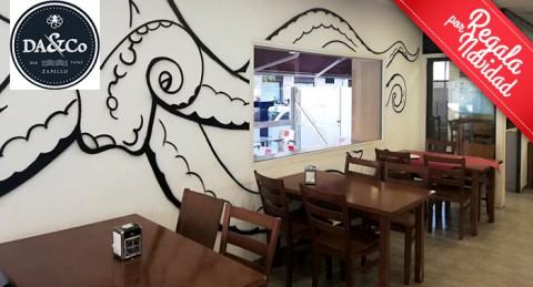 Exquisito plan para 2: Fritura de Pescado + Jarra de Cerveza en Da&Co; en el Zapillo