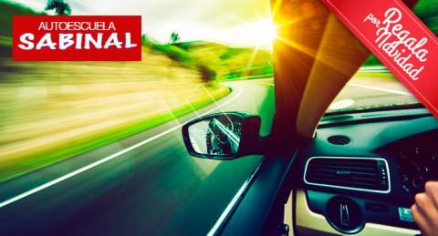 Regala completo curso para sacarte el Carnet de conducir de coche o moto. ¡Prácticas incluídas!