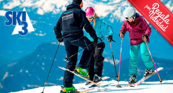 Esta Navidad disfrútala a tope haciendo Esquí o Snowboard en Sierra Nevada, ¡menudo planazo!