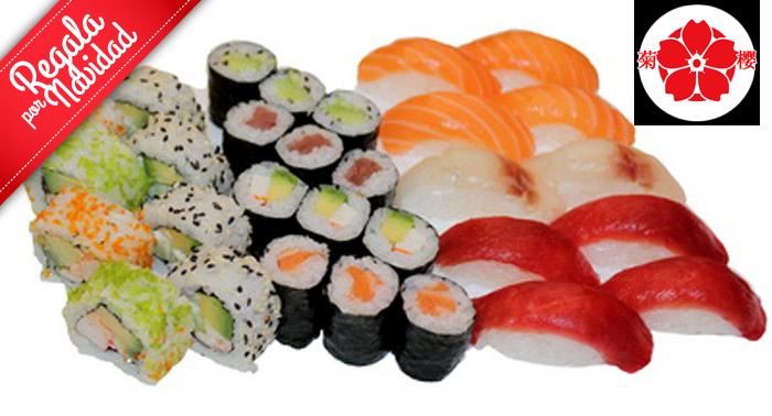 ¡Planazo para los amantes de la comida Japo! Mixto de Sushi, Arroz o Tallarines...¡Tú eliges!