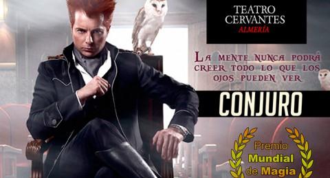 Presenta Yunke su espectáculo Conjuro, un mundo de magia e ilusiones en Teatro Cervantes